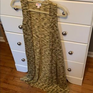 LulaRoe Duster Vest